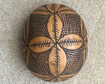Rastafarian Bowls Traditional Living Wall Art, Cultural 2 Hand Carved Organic Calabash Mezcal,Gourds,Carved wooden bowls