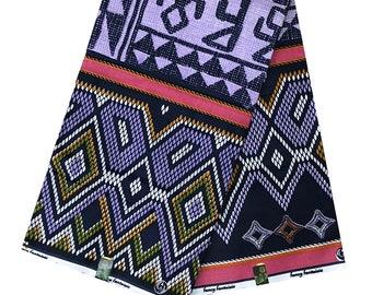 Toghu African fabric by the yard / Bamileke African print fabric/ Cameroon Bamenda traditional fabric / atoghu fabric / tissu pagne africain