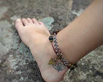 Ankle bracelet / anklet bracelet