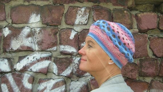 Frauen Hüte für Chemo Sommer Hut Rosa Mütze häkelhut Mütze | Etsy