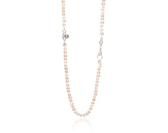 Freshwater Mini Pearl Necklace 925 Sterling Silver with Infinity Design