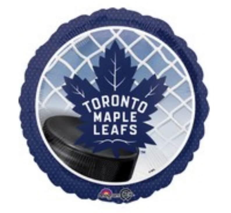 17 Toronto Maple Leafs Foil Balloon Hockey Birthday