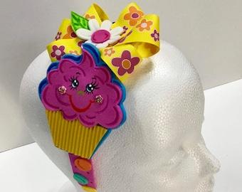 Sweet Cupcake Headband