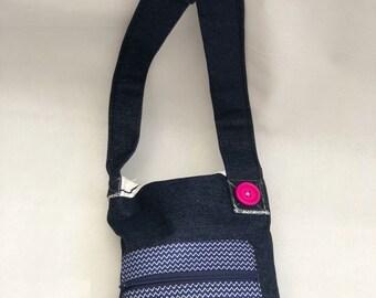 Bespoke handmade kharris shoulder bag