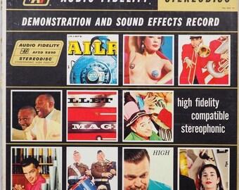 Audio Fidelity Demo & Sound Effects An Original AF LP On Classic 50's Vinyl