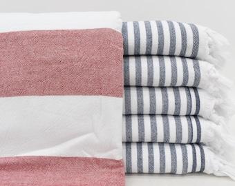 Original Turkish Peshtemal 100/% Cotton Double Thick /& Soft Organic Towel 40x70