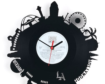 "Wall clock ""Los Angeles"""