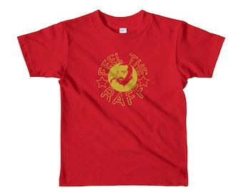 39898e77e0a Feel the Raff - Raffi T-shirt - Iconic VARIED COLOR OPTIONS Short sleeve  kids t-shirt