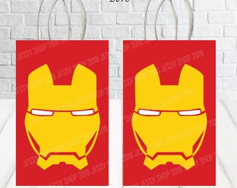 graphic regarding Iron Man Printable named Iron gentleman printable Etsy
