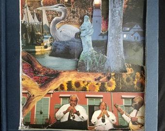 New Orleans Book Sculpture
