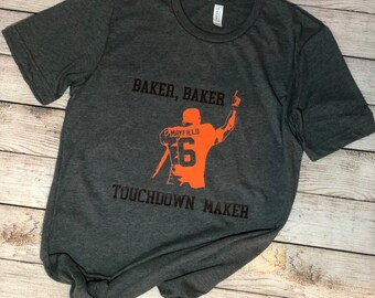 8f657b67a7 Items similar to I'm With Baker - Cleveland Brown Orange Football ...