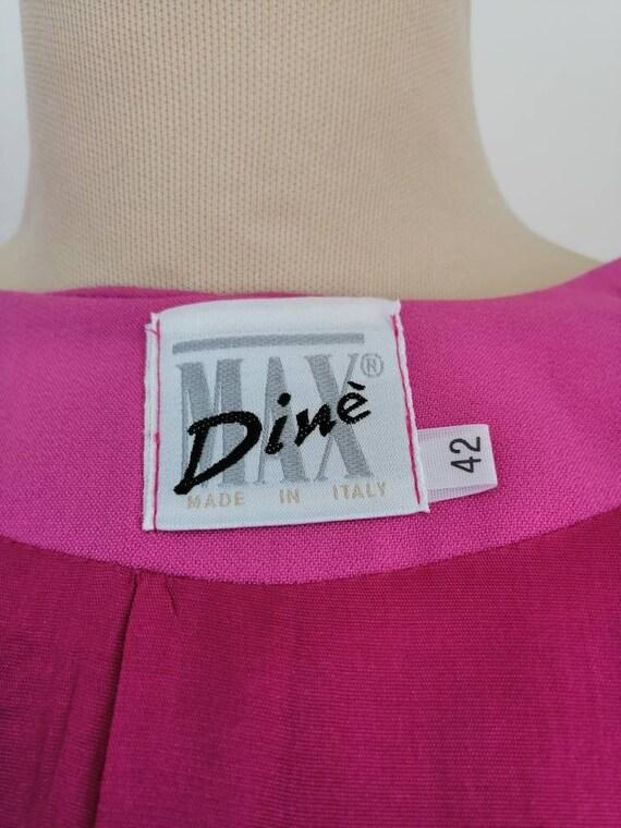 Vintage pink blazer, 80s pink jacket, disco blaze… - image 10
