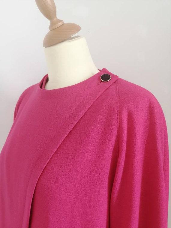 80s blazer, vintage blazer, pink blazer, asymmetr… - image 7
