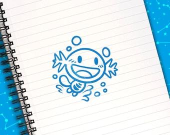 Wooper Self-Inking Stamp