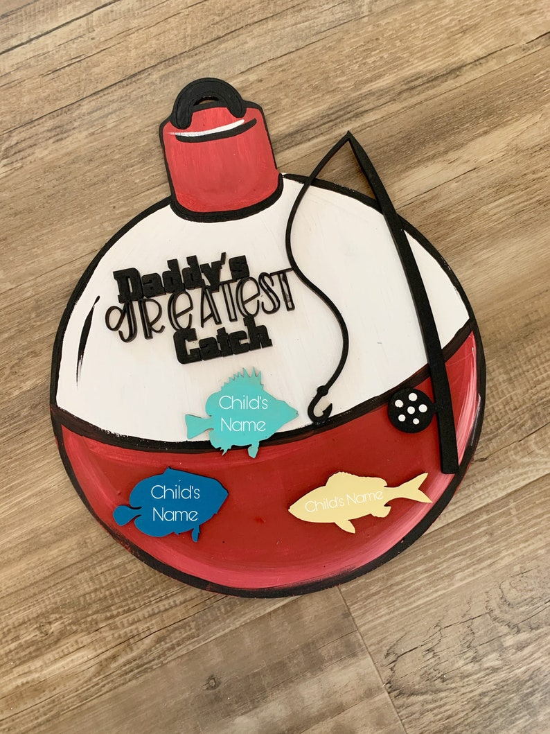 Bobber Daddy\u2019s Greatest Catch DIGITAL FILE Father\u2019s Day kitgift DIY Kit