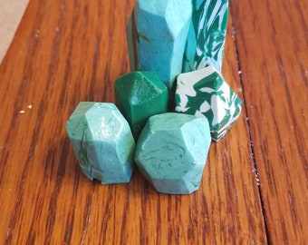 Clay Crystal Cluster