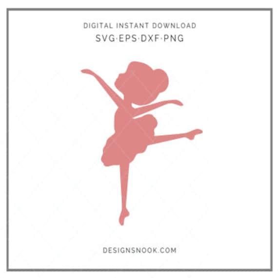 Ballerina Svg Little Ballerina Svg Ballerina Cut File Dance Etsy