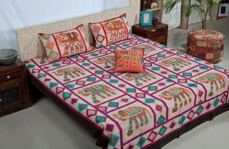 8b64913218 Indian Embroidery Rajasthani Design Handmade Elephant Hand | Etsy