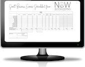 Customized Canadian Excel Expense Spreadsheet Tracker Template