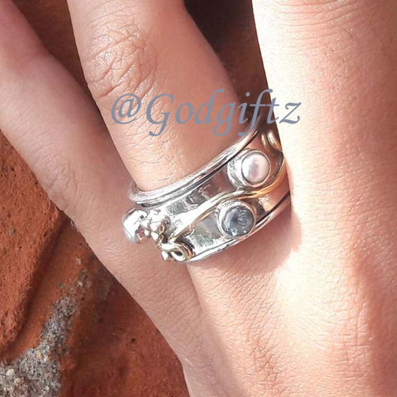 Details about  /Solid 925 Sterling Silver AAA Pink Rose quartz Gemstone Christmas Mens Ring 11