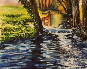"Print ""River n the forest"""