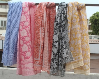 PIC755 FREE SHIPPING Indian Vintage Fashion Bandhani Scarf Cotton for Women Light Weight scarf Long Scarf