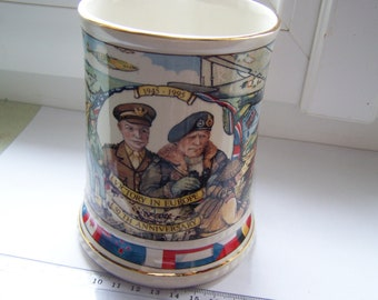 Tankard commemorating the 50th anniversary of VE day