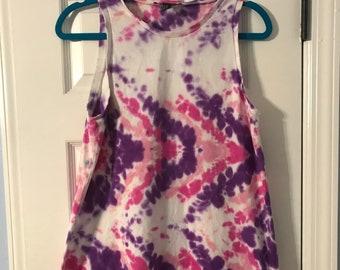 Zig-Zag Dyed Dress
