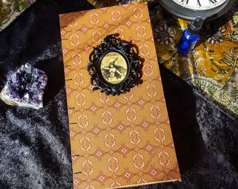 Vintage Witchy Journal, Junk Journal, Book of Shadows