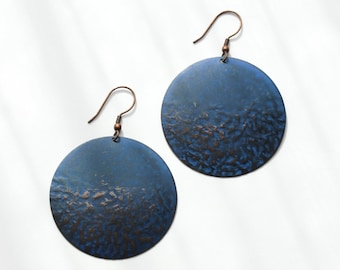 Azul Disc Earrings