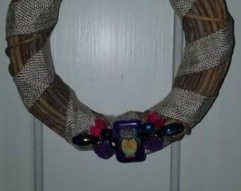 Vintage Jeweled Wreath