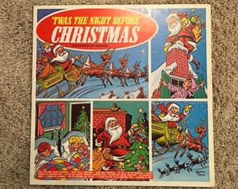 MISTLETOE SINGERS - Twas The Night Before Christmas vinyl LP - Christmas vinyl