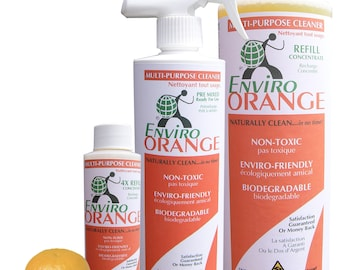 EnviroOrange Citrus Cleaner/Degreaser Concentrate