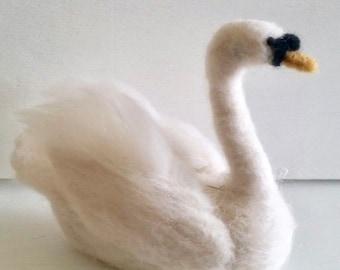 Needle Felted Swan