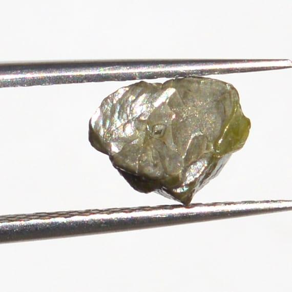 1 Lot de diamant carats 1,77 grand des diamants diamants diamants bruts, couleur gris fantaisie, taille 4,14 mm à 7,20 mm 100 % véritable terre miné c1ad30