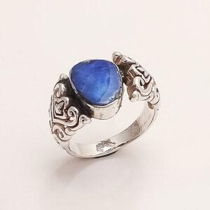 Real Australian October Birthstone Fire Opal Ring 925 Sterling Silver Women Spiral Ring Jewelry Handmade Designer Columbus Fine Gift Jewelry