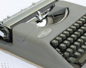 NEW PLATEN Hermes Rocket typewriter - restored and serviced (all new rubber feed rollers and feet)