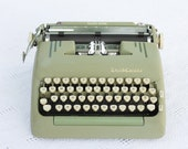 Reserved CURSIVE ( quot Vertical Script quot ) Smith Corona Silent Super 1960 typewriter - cleaned and serviced