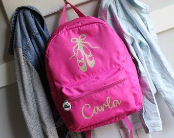 Personalized Dance Bag / Custom Ballet Backpack / Ballerina Backpack / Backpack Kids / Custom Dance Bag / Girls School Bag / Girls Gym Bag