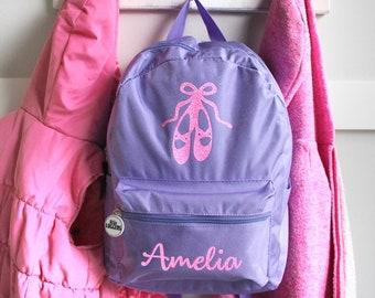 Dance Bag Personalized Dance Bag  Ballet Backpack  Ballerina Backpack Backpack  Kids Personalized Backpack Custom Dance Bag Custom Ballet Bag d3710be7aa