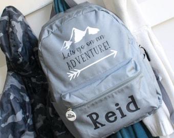 48c38008c784 Personalized Backpack  Custom backpack  Kids backpack  School Bag  Custom  kids backpack  Boys backpack  Girls backpack  Adventure backpack