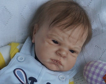 Realistic Reborn Kiryusha by Cindy Musgrove Lifelike Baby Doll Ready to be Adopted Awake Newborn Baby  Open Eyes Completed Ready to Ship!!