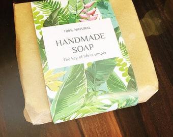 Lavender Vanilla Soap and Shampoo Bar