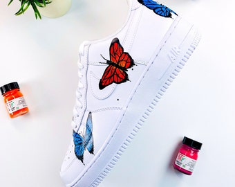b88e00a29 Butterfly Effect Nike Air Force 1's Low 07'