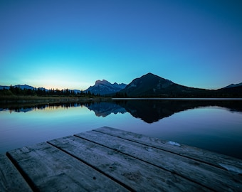Vermilion Lakes, Banff National Park Canada, Wall Art, Travel Photography, Canadian Landscapes, Poster Prints, Free Delivery, Tim Lowing.