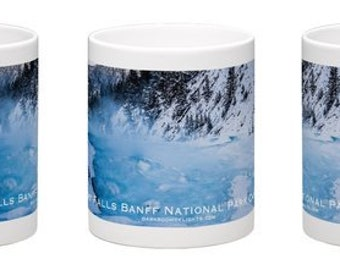 Banff National Park Alberta Canada Souvenir Coffee Mug, Free Delivery, Landscape Photography, Rocky Mountains, Gift Idea, Canadian Lifestyle