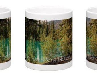 Coffee Mug, Free Delivery, Landscape Photography, Banff National Park, Cup, Alberta Canada, Rocky Mountains, Photography, Perfect Gift Idea.