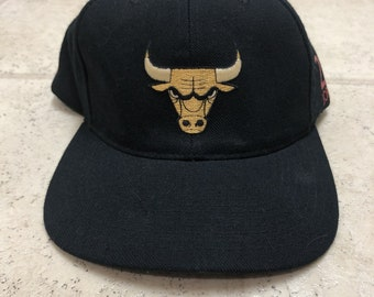 28612bbb ... coupon code for chicago bulls michael jordan 23 vintage black snapback  hat 921df 58be3