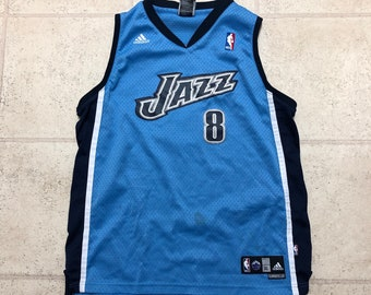 Utah Jazz Deron Williams Vintage Powder Blue Swingman Basketball Jersey.  OurVaultCollection 3.5 out of 5 stars ... a5ee99240