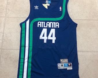 0503cd00cff ... reduced atlanta hawks pete maravich pistol blue swingman basketball  jersey 6412f ee219